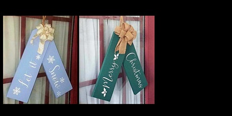 Holiday or Winter Gift Tag Décor tickets