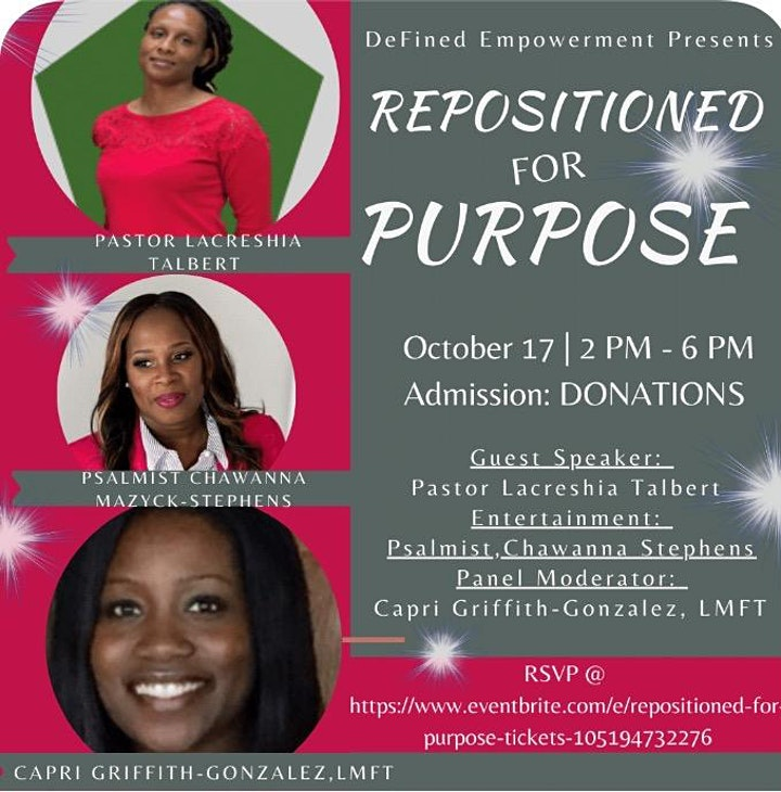 REPOSITIONED for PURPOSE image