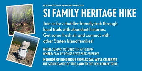SI Family Heritage Hike tickets