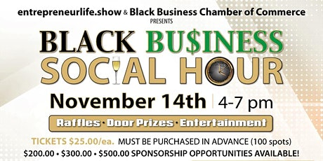 Black Business Social Hour tickets