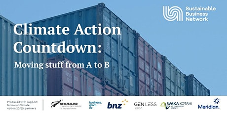 Climate Action Countdown: Moving stuff from A to B tickets
