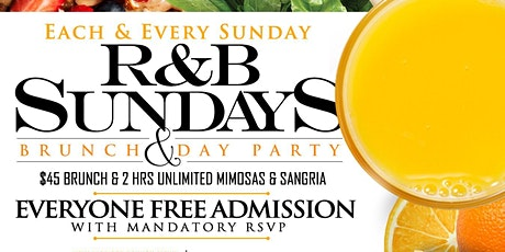 R&B Sundays Bottomless Brunch & Day Party tickets