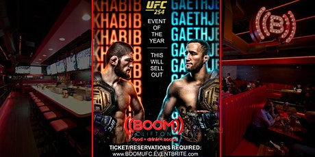 KHABIB RETURNS! UFC EVENT OF THE YEAR AT ((BOOM)) tickets