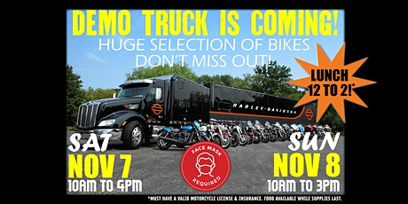 H-D Demo Truck Event at Sonoma County Harley-Davidson! tickets