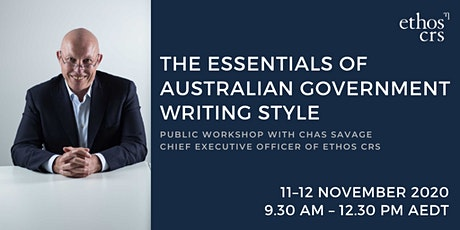 WORKSHOP: The essentials of Australian Government writing style tickets