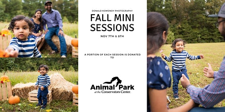 Fall Family Portraits at the Animal Park at the Conservators Center tickets