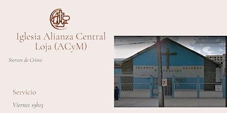 Culto Iglesia Alianza Central Loja - Viernes 2 de octubre entradas