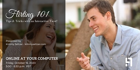 Flirting 101: Tips & Tricks With An Interactive Twist tickets