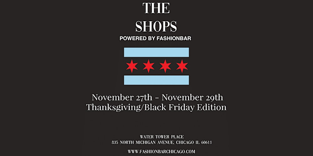 The Shops November 2020 Thanksgiving Black Friday Edition Tickets Fri Nov 27 2020 At 10 00 Am Eventbrite