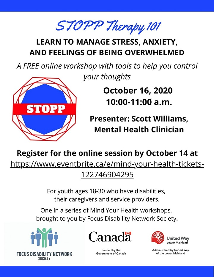 Mind Your Health: STOPP Therapy 101 image