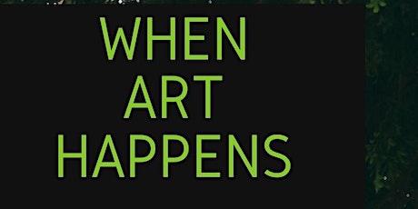 When Art Happens || CRayProject tickets