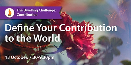 Define Your Contribution to the World tickets