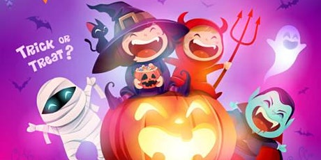 Trick or Paint Party- FAMILY EVENT tickets