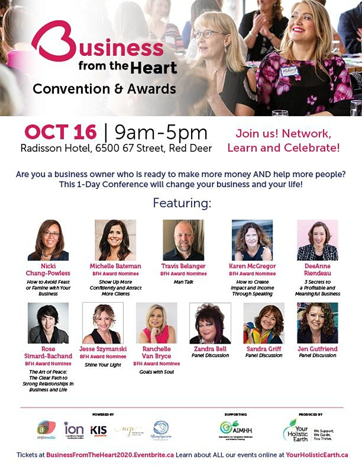 Business From the Heart Convention & Awards image
