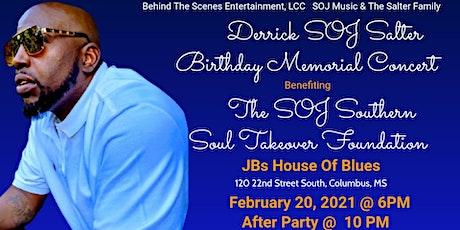 "Derrick"" Son of Jody"" Salter Birthday Memorial Concert tickets"