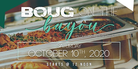 """SF Black Wallstreet presents """"BOUG on the Bayou"""", an Outdoor Dining Event tickets"""