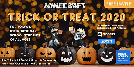 Minecraft Trick or Treat 2020 Event/Competition tickets