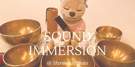 SOUND IMMERSION with Singing Bowls, Gong & Chimes tickets