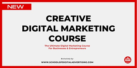 Creative Digital Marketing Course - 3 Day - HRDF Claimable tickets