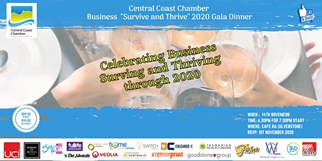 Central Coast Chamber of Commerce Gala Dinner tickets