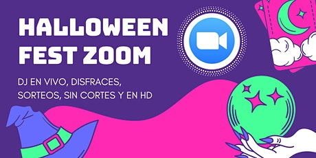 HALLOWEEN FEST ZOOM boletos