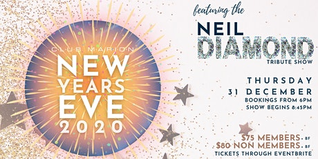 NYE 2020 at Club Marion tickets