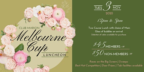 Melbourne Cup Luncheon at Club Marion tickets