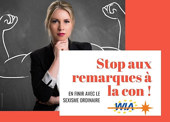WIA-E TLS - Stop aux remarques à la con! En finir avec le sexisme ordinaire image