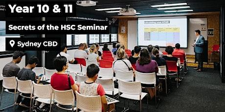 Year 10/11 'Secrets of the HSC' Seminar tickets