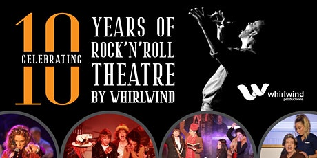 Whirlwind Productions NZ 10th Year Anniversary Celebration - Thurs Nov 5 tickets