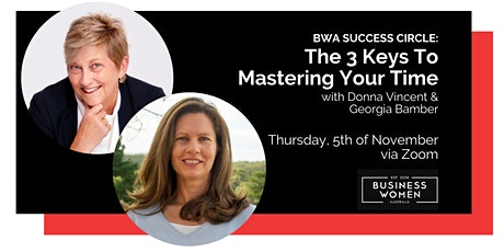 Online Success Circle: Three Keys to Mastering Your Time tickets