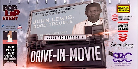 FREEDOM FRIDAY: A Voter Registration & Drive-In Movie Event @ Redbird Mall tickets