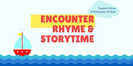 Encounter Rhyme and Storytime Preschool Program 2020 tickets