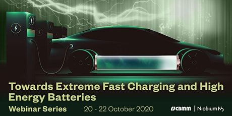 Towards Extreme Fast Charging and High Energy Batteries - Webinar Series tickets
