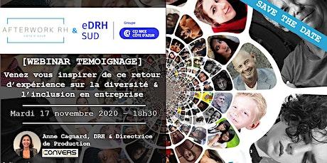 AW RH Côte d'Azur ** 17 novembre ** Témoignage Diversité & Inclusion billets