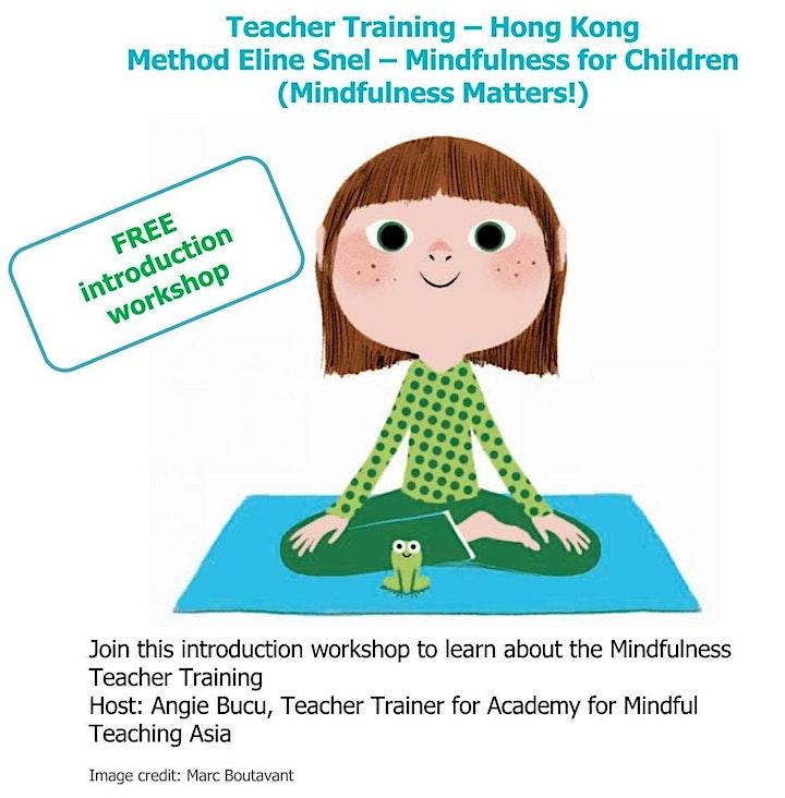 Mindfulness for Children Teacher Training - Free Introduction Workshop image