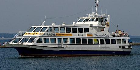 """Rejsy wycieczkowe statkiem pasażerskim m/s """"Chateaubriand"""" Tickets"""