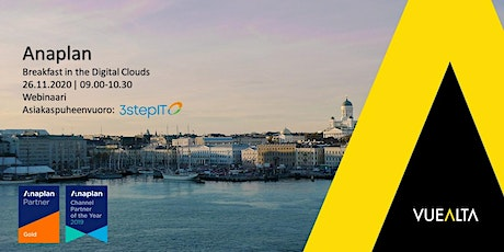 Anaplan - Breakfast in the Digital Clouds tickets