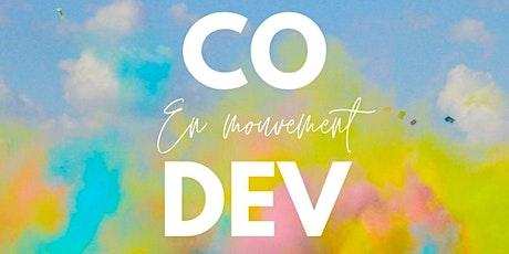 DECOUVERTE DU CODEV EN MOUVEMENT (EN LIGNE) / JANVIER 2021 billets
