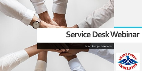 Service Desk Webinar for fresher. tickets