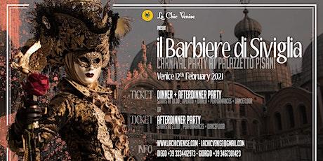 Carnival at Palazzetto Pisani - il barbiere di Siviglia tickets
