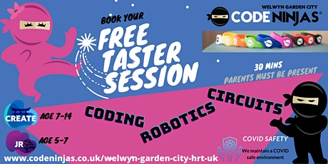 Code Ninjas Welwyn Garden City FREE Taster Sessions tickets