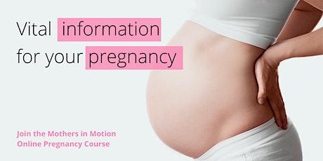 Online pregnancy course Advantage Package: Start 10/11/2020 tickets
