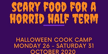 Kids' Halloween Cook Camp - let's cook some frightening food together! tickets