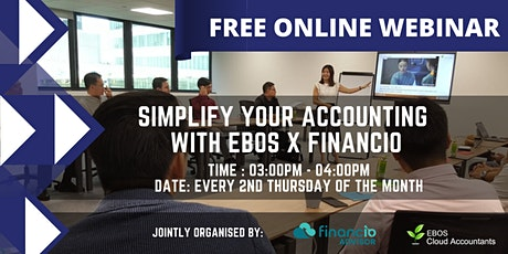 Simplify your accounting with EBOS x Financio tickets