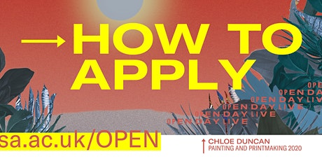 How to apply for Programmes in Design tickets