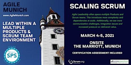 Agile Munich | Certified Training | Scaled Professional Scrum (SPS) Tickets