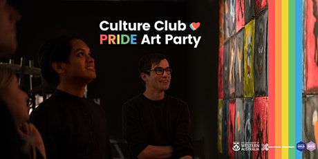 Culture Club: Pride Art Party tickets