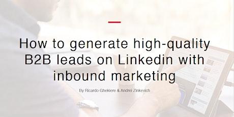 LinkedIn B2B Marketing Workshop tickets