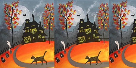 Easely Does It - Family Painting Session - Party at the haunted house tickets